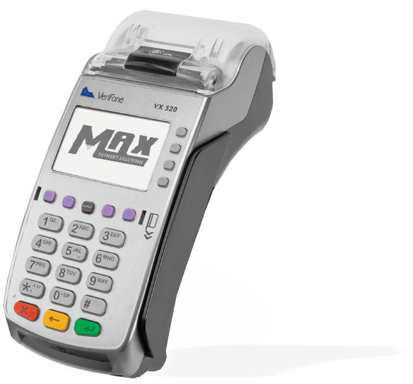 MAX Payment Solutions VX520 machine